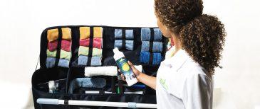 Kit de produtos para Serviços Limpezas Domésticas, Limpeza Ecológica