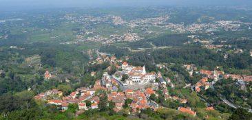 Foto aérea de Sintra