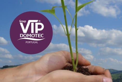 Qual a política ecológica da Vip Domotec?