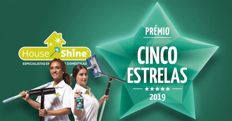 House Shine distinguida com o Prémio 5 Estrelas, House Shine, Limpezas Domésticas Profissionais