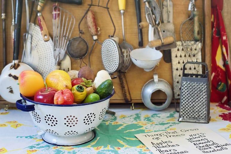 Utensílios de Cozinha Limpos