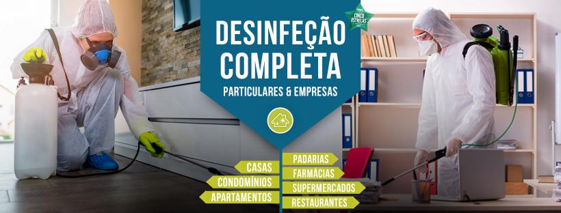 Empresa de Limpeza e Desinfeção